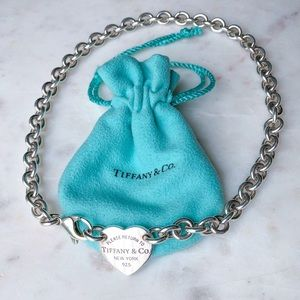 Tiffany & Co. Heart Tag Choker